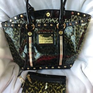 BETSEYVILLE  tote with wallet